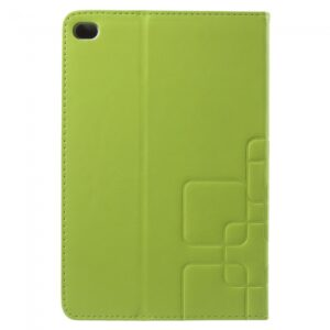 iPad mini 4 cover, m. kortholder, Lime