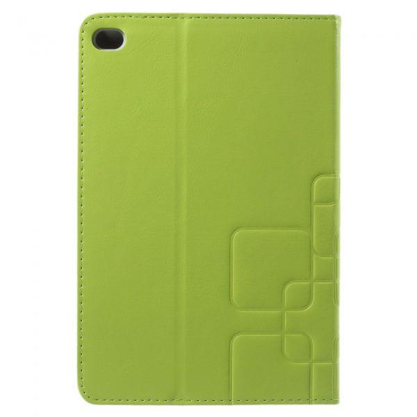 iPad mini 4 cover, m. kortholder, Lime