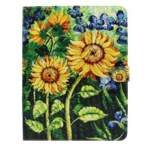 iPad 2,3,4 Flip-cover med solsikke