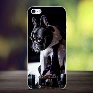 iPhone 5/5S/SE Bagcover TPU. Sej hund.