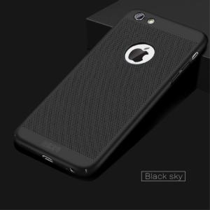 iPhone 6/6S med lufthuller Sort