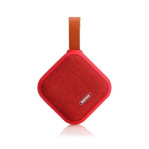 Bluetooth højtaler med rem. Rød med rød tekstil.