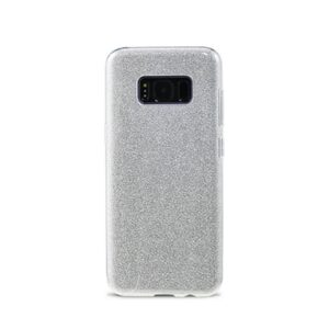 Samsung S8 Plus Bagside. TPU Sølv Glimmer.
