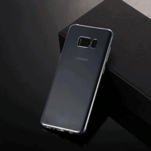Samsung S8 Cover. TPU Klar/gennemsigtig