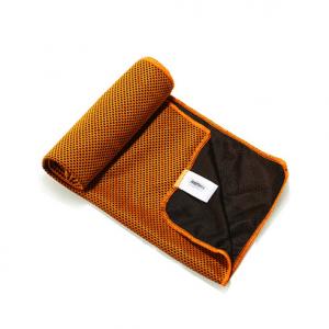 Sportshåndklæde Køler Bambusfibre/Carbon fiber Or.