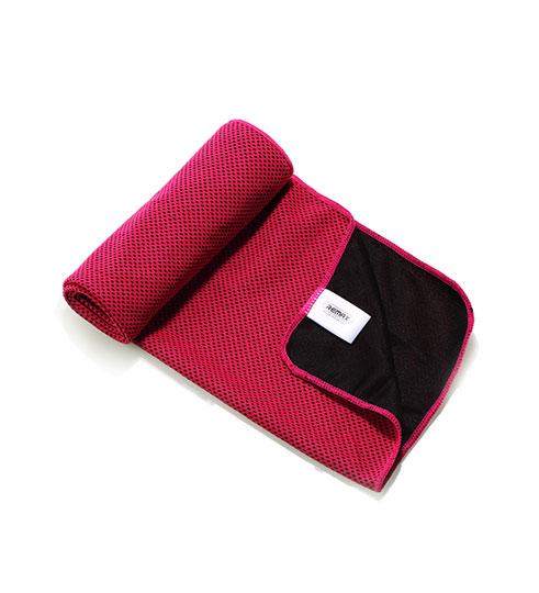 Sportshåndklæde Køler Bambusfibre/Carbonfiber Pink
