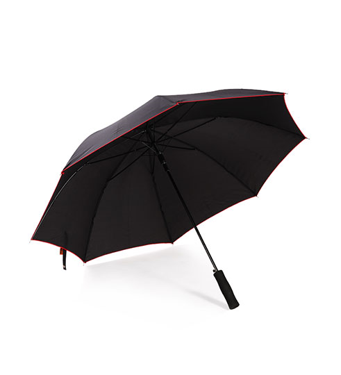 Paraply, åben/luk funktion. Sort
