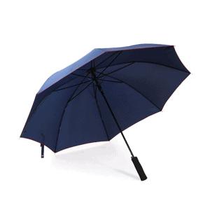 Paraply, åben/luk funktion. Blå