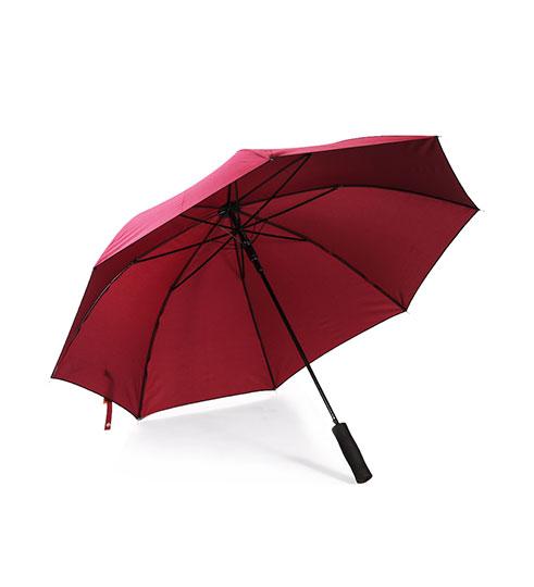 Paraply, åben/luk funktion. Rød