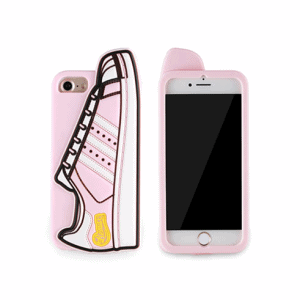 iPhone 6/6s/7/8 Plus Cover med Sko. TPU Pink