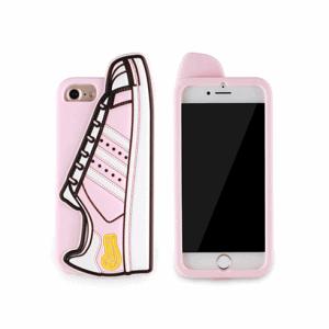 iPhone 6/6s/7/8 Plus Cover med Sko. TPU Pink