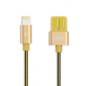 Lightning Kabel hurtig opladning 1m. Gold