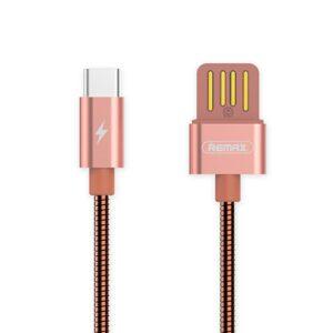 USB-C Kabel Hurtig opladning 1 m. Rose Gold