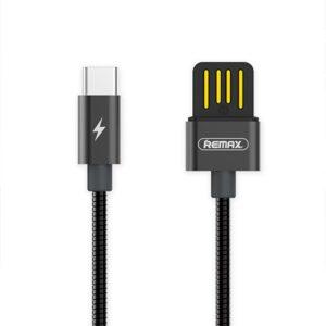 USB-C Kabel Hurtig opladning 1 m. Sort