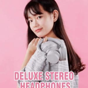Bluetooth Headset Lyserød