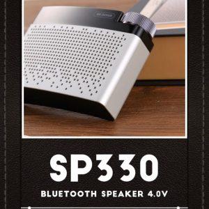 Bluetooth højtaler. Silver Grå