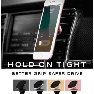 Mobil magnet holder til luftspjæld. Sølv