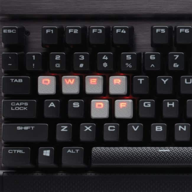Corsair K70 LUX USB Pan Nordic Sor