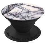 POPSOCKETS White Marble Holder og Stand