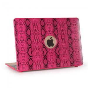 "Macbook 13.3"" Retina cover. PU slangeskind. Pink"