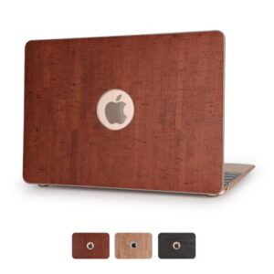 MacBook Pro 13.3, Retina cover, Trælook, brun.