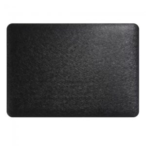 "Macbook 13.3"" Retina Cover. Texturflade sort"