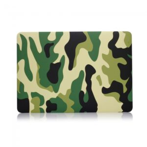 "Macbook Pro 13"" (2016) Cover. Camouflage grøn."