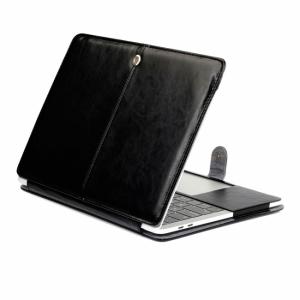 """Macbook Pro 13"""" (2016) Cover. PU læder. Sort"""