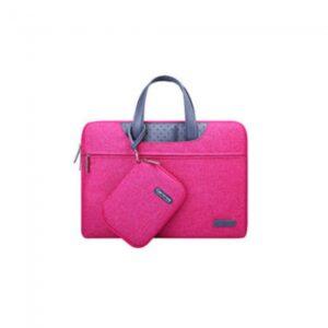 """Computertaske 13"""" inkl. lille taske Pink"""