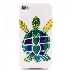 iPhone 4/4S cover med skildpadde