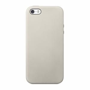 iPhone 5/5S/SE Cover Svampet overflade Hvid