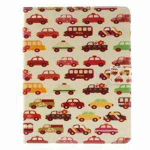 iPad 2,3,4 Flip-cover med biler og busser.