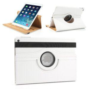 iPad air 360 grader cover m. dvalefunktion, hvid