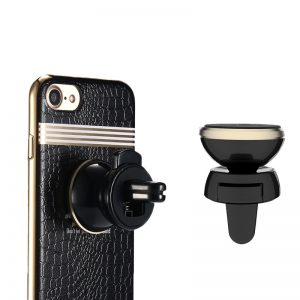 Remax RM-C19 car holder + iPhone case