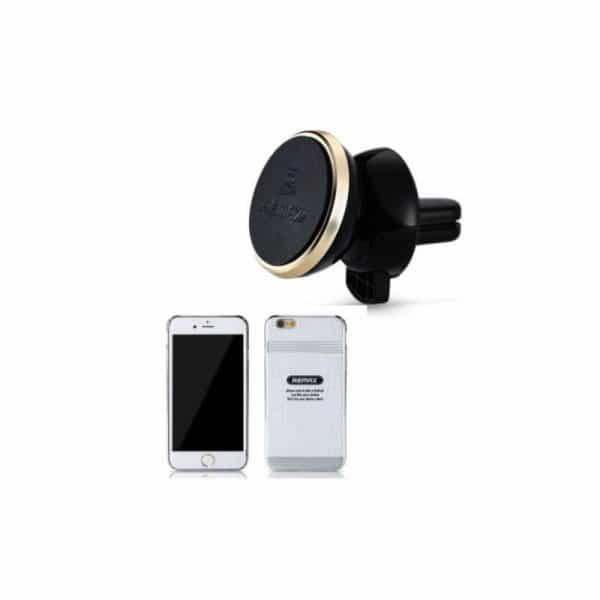 Remax RM-C19 hvid - car holder + case