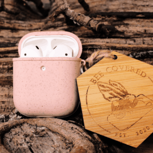 Apple Airpods gen. 1/2- Lyserød