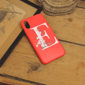 iPhone X/XS - E, Rød