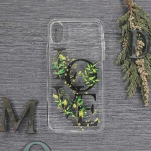 iPhone XR Transparent, Love, Sort