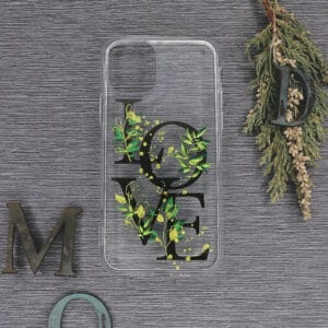 iPhone 11 Transparent, Love, Sort