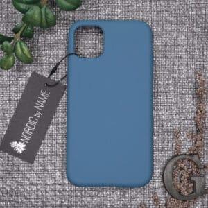 iPhone 11 bagside silikone, Blå