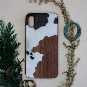 iPhone X/XS bagside i træ, Ko
