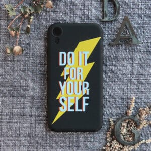 iPhone XR bagside silikone, Do it for yourself!