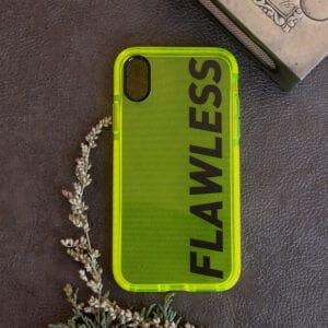 iPhone X/XS bagside Neon, Flawless