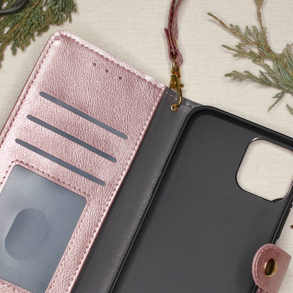 iPhone 12/12 Pro - Pink Flipcover