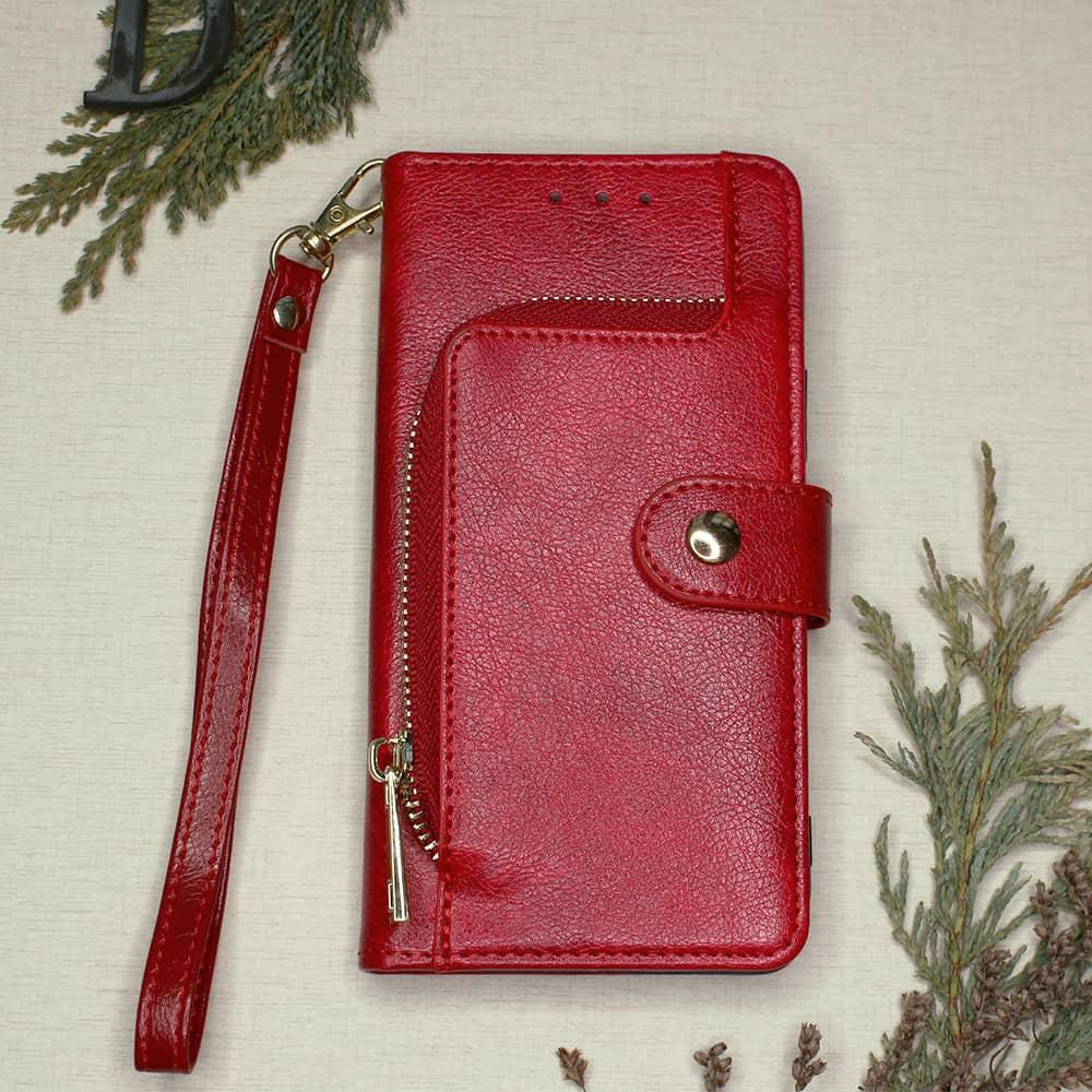 iPhone 12 Mini - Rødt Flipcover