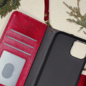 iPhone 12 Pro Max - Rødt Flipcover