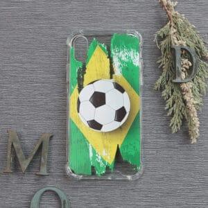 iPhone X/XS Transparent, Fodbold, Stødsikre