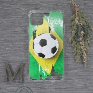 iPhone 11 Pro Transparent, Fodbold, Stødsikre