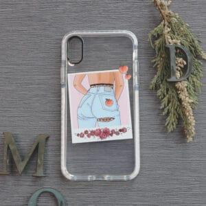 iPhone XR Transparent, Jeans