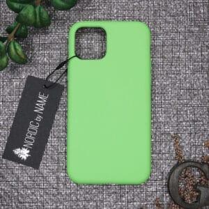 iPhone 11 Pro Max bagside silikone, Grøn